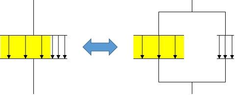コンデンサーの分割2