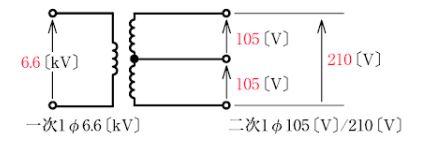 単相3線式