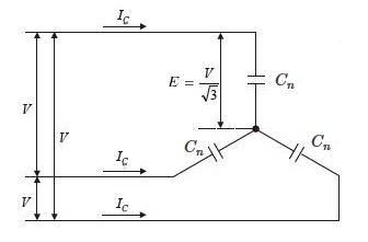 コンデンサの充電電流