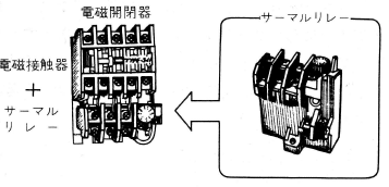 過電流保護としてのサーマルリレー