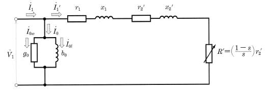 簡易等価回路(1相分)