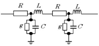 線路定数の等価回路