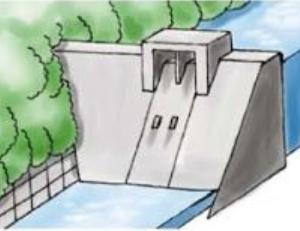 コンクリート重力ダム