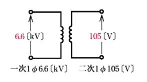 単相2線式配電方式