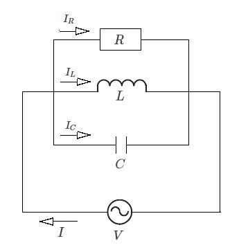RLC並列接続